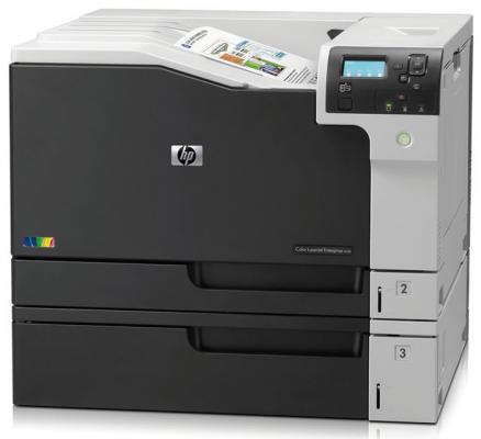 Принтер лазерный HP Color LaserJet Enterprise M750n <D3L08A> A3,30/30 стр/мин,1Gb,Ethernet,USB принтер hp laserjet enterprise 500 color m553x b5l26a цветной а4 38ppm 1200x1200dpi 1024mb ethernet usb
