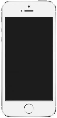 "Смартфон Apple iPhone 5S серебристый 4"" 16 Гб LTE Wi-Fi GPS ME433RU/A"