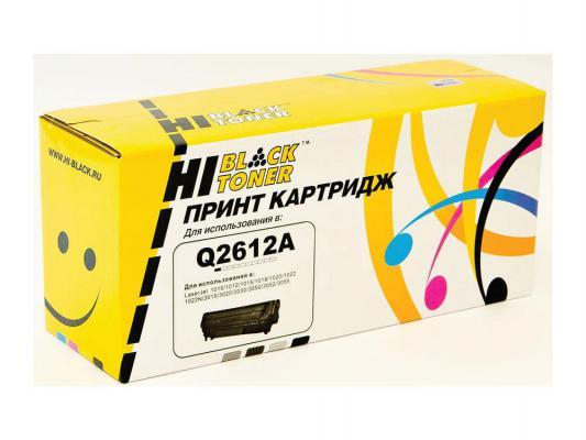 Лазерный картридж Hi-Black черный для HP Q2612A LJ 1010/1020/3050 2000стр от 123.ru