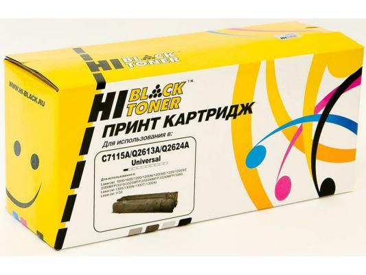 Картридж Hi-Black для HP C7115A/Q2613A/Q2624A LJ 1200/1300/1150 2500стр cs h2613a bk compatible toner printer cartridge for hp q2613a q2613 q 2613a 2613 13a 13 1300 1300n 2500 pages free fedex