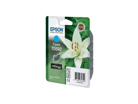 Картридж Epson Original T059240 (синий) для Stylus Photo R2400 картридж epson t009402 для epson st photo 900 1270 1290 color 2 pack