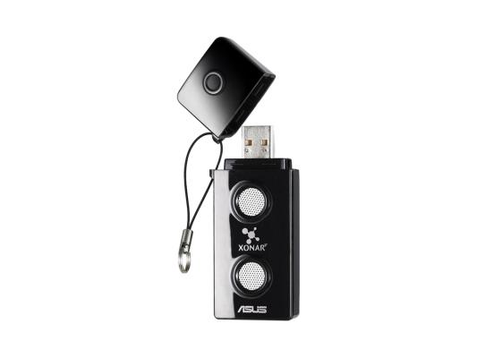 Внешняя звуковая карта Asus Xonar U3 (XOnAR_U3/UAD/B/A) звуковая карта asus usb xonar u5 с media cm6631a 5 1 ret