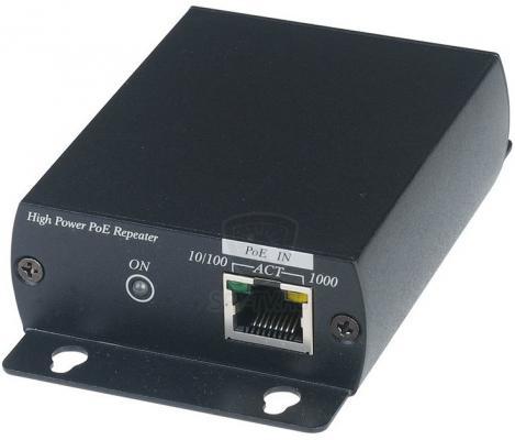Удлинитель SC&T IP04X High PoE по витой паре до 240м удлинитель vga по витой паре