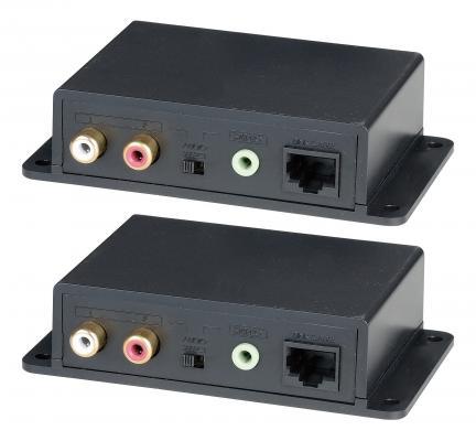Комплект для передачи стерео аудиосигнала SC&T AE02 на расстояние до 600 м по кабелю витой пары CAT5 и выше 5pcs free shipping bta16 600b bta16 600 bta16 triacs 16 amp 600 volt to 220 new original