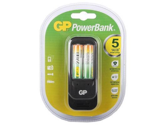 Зарядное устройство + аккумуляторы GP PB560GS270-CR2 2700 mAh AA 2 шт зарядное устройство аккумуляторы 2700 mah gp pb560gs270 cr2 aa 2 шт