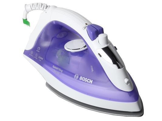 Утюг Bosch TDA 2377 2200Вт синий утюги bosch утюг bosch tda2377 2200вт фиолетовый