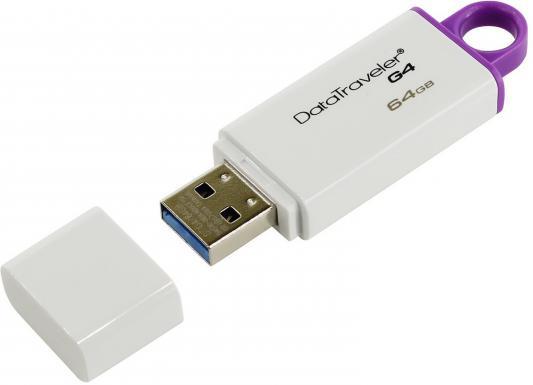 Фото - Внешний накопитель 64Gb USB Drive <USB 3.0> Kingston DataTraveler (DTIG4/64GB) usb flash drive usb flash 64gb kingston datatraveler elite g2 black dteg2 64gb