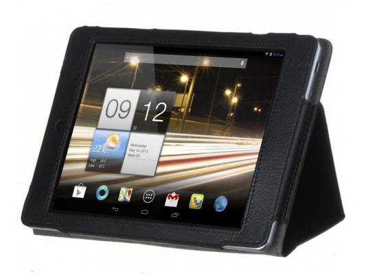 Чехол IT BAGGAGE для планшета ACER Iconia Tab A1-810 искусственная кожа черный ITAC8102-1