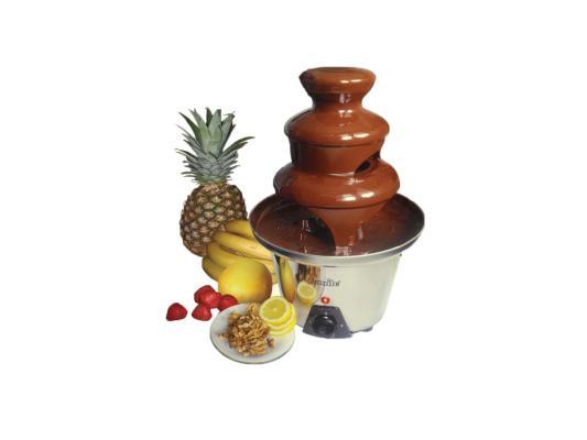 Прибор для приготовления шоколадного фондю Smile CHF 1260 серебристый