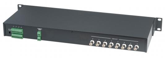 Приемник видеосигнала SC&T TPA008A активный 8-канальный по витой паре с авторегулировкой до 1500м приемник futaba 4 канальный r2004gf 2 fhss sport 2 4g для передатчиков futaba 3plg futaba 4plg и futaba