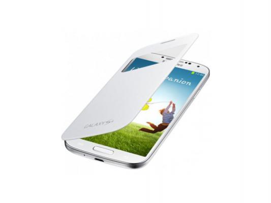 Чехол-книжка Samsung EF-CI950BWEGRU S-View Cover White для GT-I9500 Galaxy S4 белый