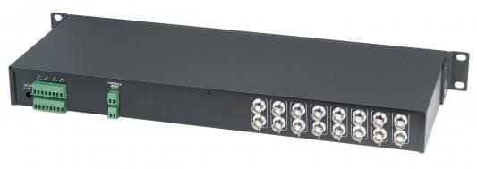 Приемник видеосигнала SC&T TPA008AH активный 8-канальный со встроенным разветвителем на 16 выходов с автоматической регулировкой усиления до 1500м приемник futaba 4 канальный r2004gf 2 fhss sport 2 4g для передатчиков futaba 3plg futaba 4plg и futaba