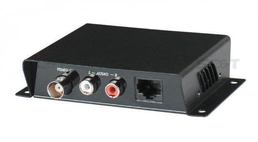 Приемопередатчик SC&T TTP111AV 1 видео и 2 аудио сигнала по витой паре на 600 м