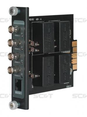Приемопередатчик видеосигнала SC&T TRP414VH 4-канальный по витой паре на 600 м с повышенной помехоустойчивостью 5pcs free shipping bta16 600b bta16 600 bta16 triacs 16 amp 600 volt to 220 new original