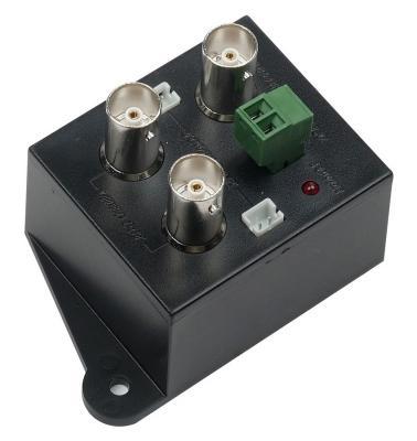 Распределитель SC&T CD102 видеосигнал 1 вход - 2 выхода распределитель gardena 2 х канальный 1 00940 20
