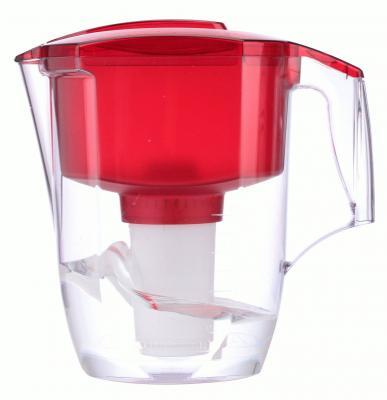 Фильтр для воды Аквафор ГАРРИ кувшин красный
