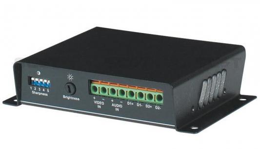 Приемник видео и аудио сигнала SC&T TTA111AVR вход для управление поворотным устройством выход датчика по витой паре на 2400 м аудио усилитель home hifi 1506 amp box