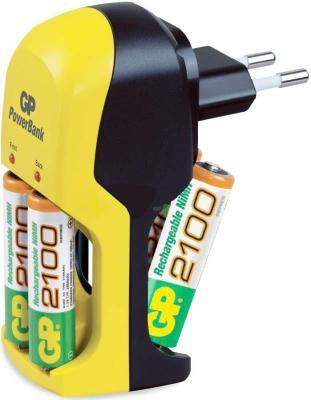 Зарядное устройство + аккумуляторы GP PB350GS210-2CR4 + 4xАА