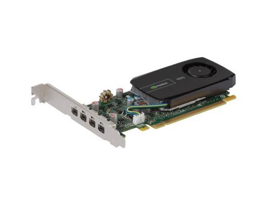 Видеокарта 2Gb <PCI-E> PNY Quadro NVS 510 <D-Sub, 4xminiDP, Retail> (VCNVS510VGA-PB)