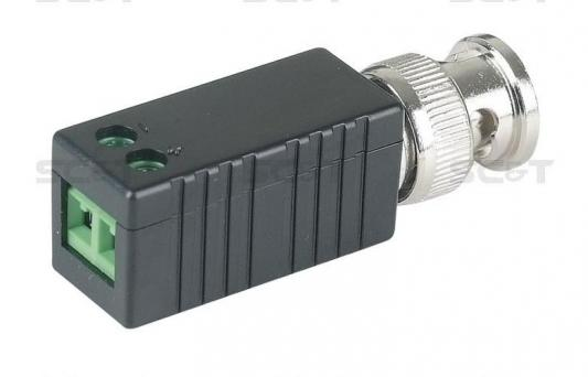 Приемопередатчик SC&T TTP111VE пассивный 1-канальный для передачи видеосигнала кабелю витой паре CAT5