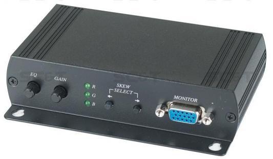 Приемник SC&T VE02DALS-2 для VGA и аудио сигналов на 300м аудио видео приемник immersion rc uno v1 2 4g filtered