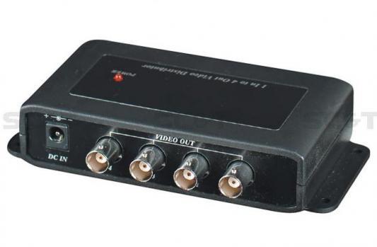 Распределитель SC&T CD104 видеосигнал 1 вход - 4 выхода cd диск guano apes offline 1 cd