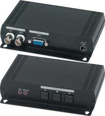 Конвертер SC&T AD001H2 для аналогового видеосигнала в VGA-сигнал