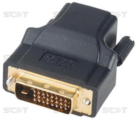 Комплект SC&T DE01ERK для передачи DVI-сигнала по кабелю витой пары CAT5e/6 пассивный передатчик DE01E и активного приемника DE01ER