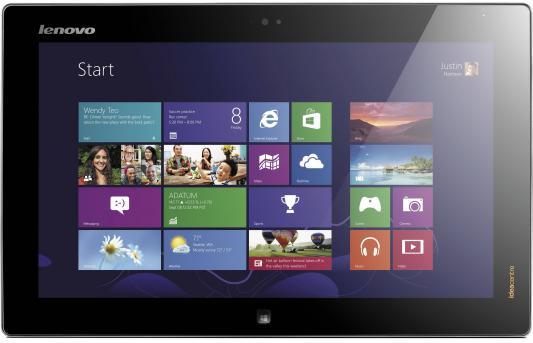 "Моноблок 20"" Lenovo IdeaCentre Flex 1600 x 900 Multi Touch Intel Core i5-4200U 4Gb 500Gb + 8 SSD Intel HD Graphics 4400 64 Мб Windows 8 серебристый 57318718"