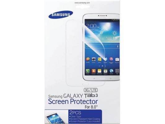 Защитная пленка Samsung Galaxy Tab 3 SM-T310 2шт прозрачная (ET-FT310CTEGRU)
