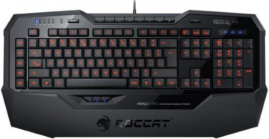 Клавиатура Roccat Isku FX USB черный ROC-12-911