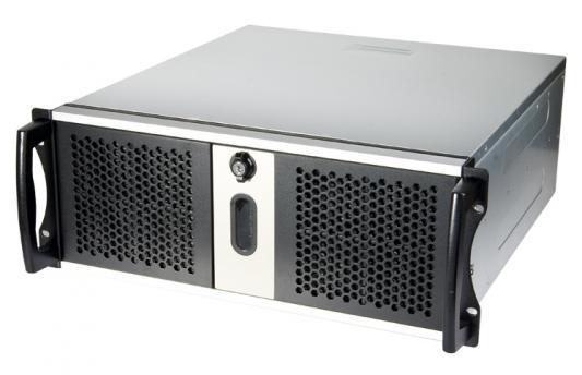 Серверный корпус 4U Chieftec RM42300-F2 Без БП чёрный