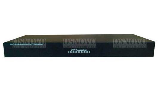 Приемопередатчик видеосигналов OSNOVO TP-C32 32-канальный по витой паре 600 м