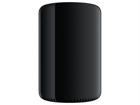 Компьютер Apple Mac Pro Intel Xeon-E5-1650 v2 16Gb SSD 256 2xFirePro D500 6144 Мб Mac OS X черный MD878RU/A