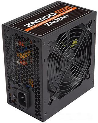 все цены на БП ATX 500 Вт Zalman ZM500-GS II онлайн