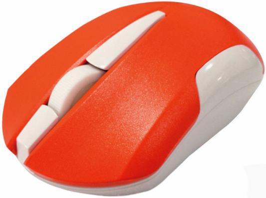 Мышь беспроводная CBR CM 422 оранжевый USB мышь cbr cm 500 grey