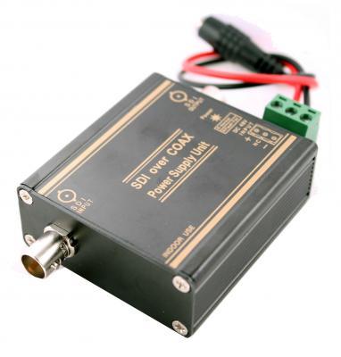 Приемник OSNOVO RA-SD/P для SDI-сигнала и питания по одному коаксиальному кабелю RG6 1-канальный HD-SDI+питание до 200м 3G-SDI+питание до 120м