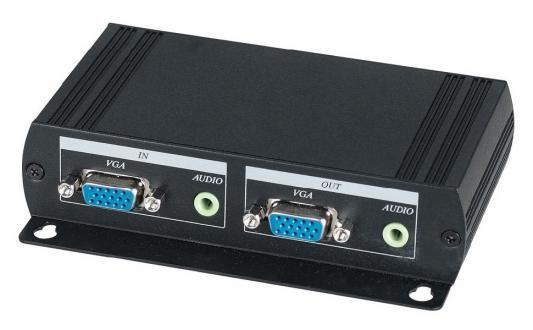 Передатчик SC&T VE02ALT VGA-сигнала и стерео аудиосигнала на удаленное устройства