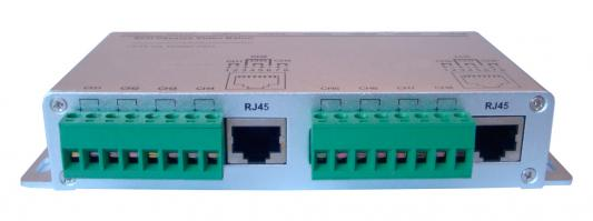 Приемопередатчик видеосигналов OSNOVO TP-C8 8-канальный по витой паре 600 м приемопередатчик видеосигналов osnovo tp c32 32 канальный по витой паре 600 м