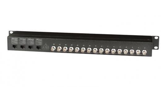Приемопередатчик видеосигнала SC&T TPP016-RJ45 пассивный 16-канальный по витой паре на 600 м 5pcs free shipping bta16 600b bta16 600 bta16 triacs 16 amp 600 volt to 220 new original