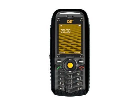 Мобильный телефон Caterpillar Cat B25 черный серый 2.2 512 Мб caterpillar рубашки