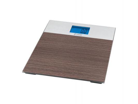 Весы напольные Vitek VT-1981BN коричневый