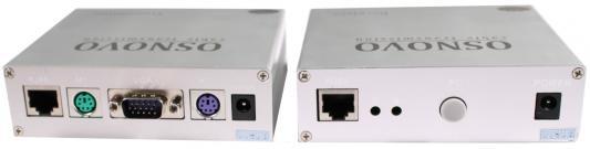 Комплект OSNOVO TA-VKM/1+RA-VKM/1 приемник + передатчик для передачи VGA/Клавиатура/Мышь до 50 м