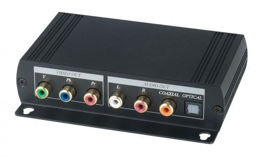 Комплект SC&T YE02DAL передатчик YE02DALT + приемник YE02DALR для передачи компонентного видеосигнала и цифрового аудио