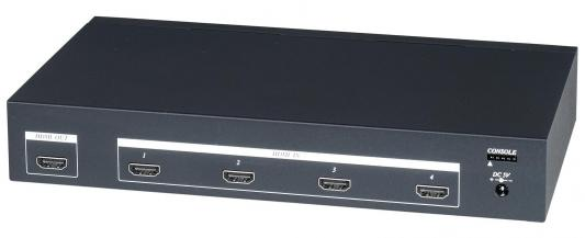Фото - Коммутатор SC&T HS04 для HDMI-сигнала 4 входа/1 выход HDMI 1.3A HDCP HS04-2 аксессуар mobiledata hdmi 4k v 2 0 плоский 1 8m hdmi 2 0 fn 1 8