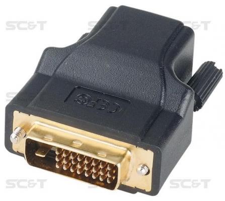 Комплект SC&T DE01E 2 пассивных приемопередатчиков DVI-видеосигнала по кабелю витой пары CAT5e/6 15м