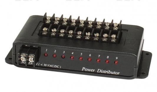 Распределитель SC&T PD009 для цепи питания 1 вход на 9 выходов стул дуакс sc 3060hq ans 12 9