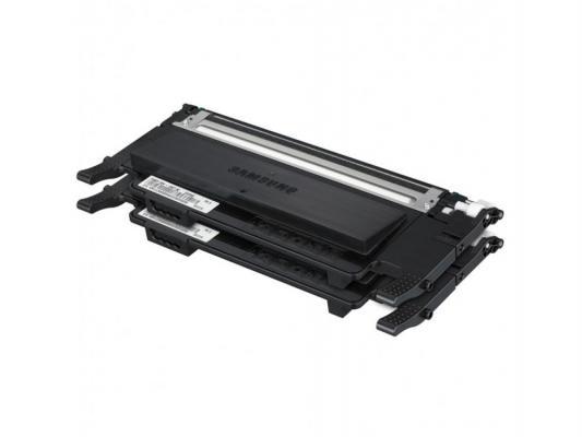 Лазерный картридж Samsung CLT-P407B черный для CLP-320/325/320N (Double pack)