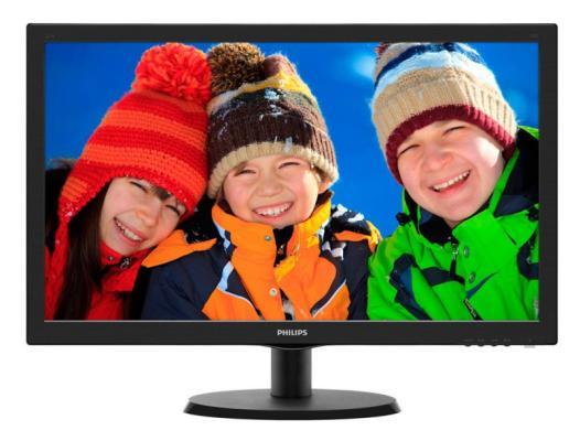 Монитор 22 Philips 223V5LSB00/01 philips mcd710 низкие цены в москве