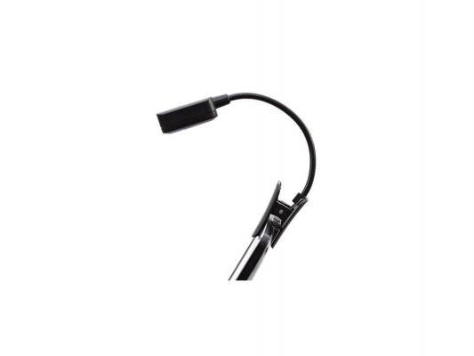 Светодиодная лампа для подсветки книг ORIENT LB-010, питание от бат. 2 х CR2032, черная